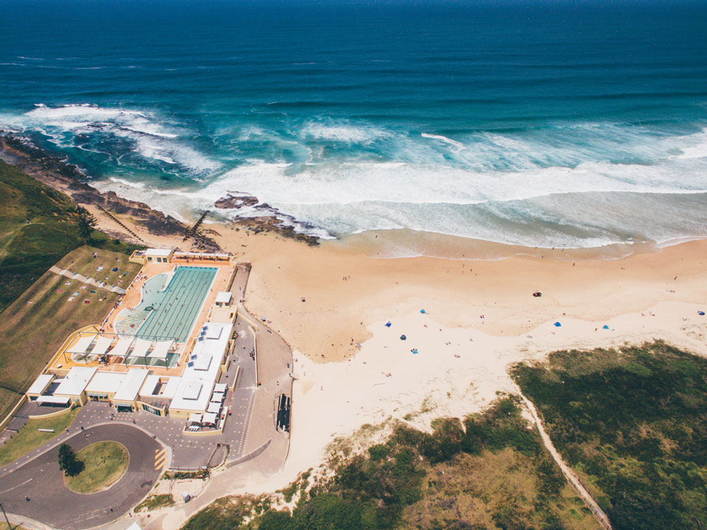Port Kembla Beach and Pool